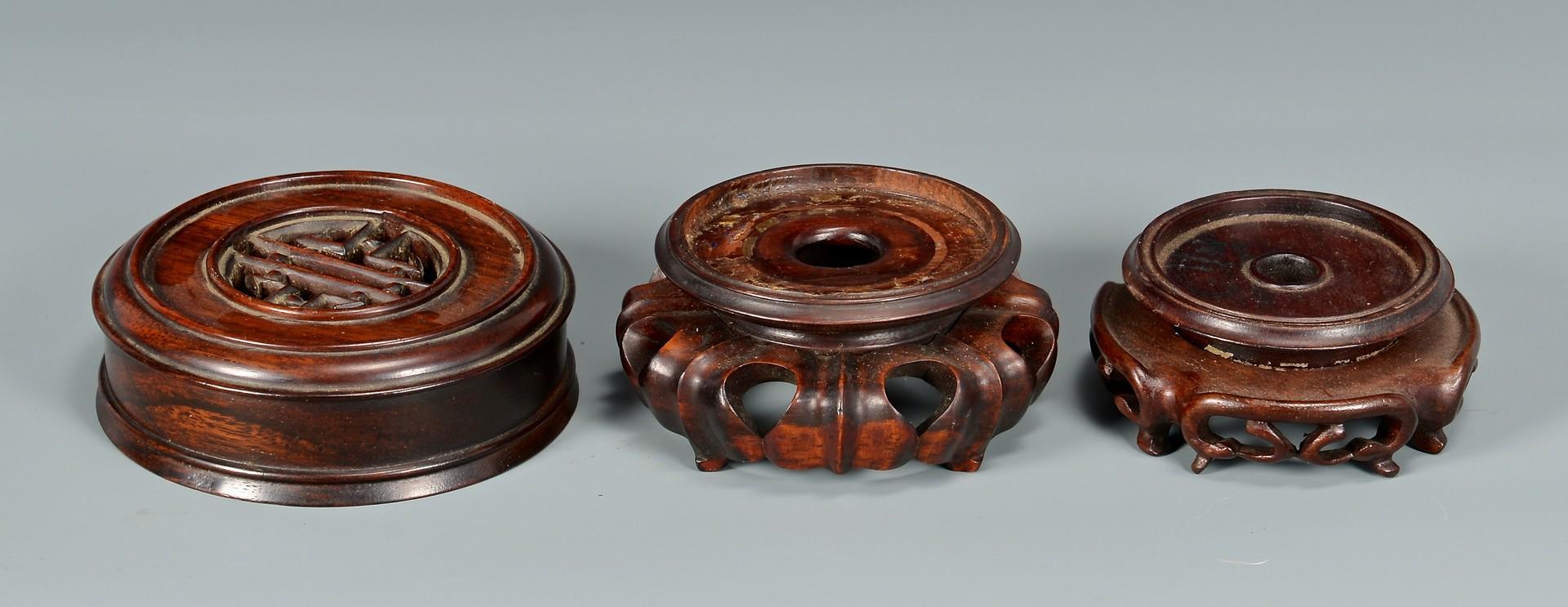 Lot 4010130: 6 Chinese Porcelain Hawthorne Pattern Ginger Jars