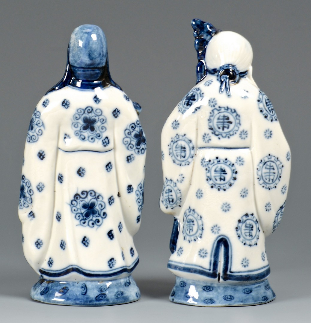 Lot 4010132: 6 Chinese Porcelain Items, incl. figurals