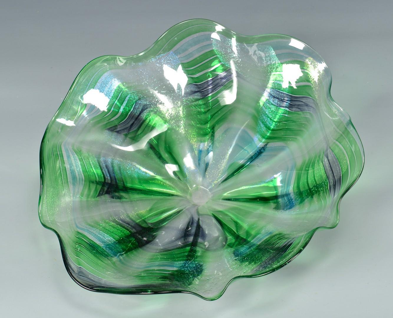 Lot 4010155: Group of Art Glass Items, 9 pcs.