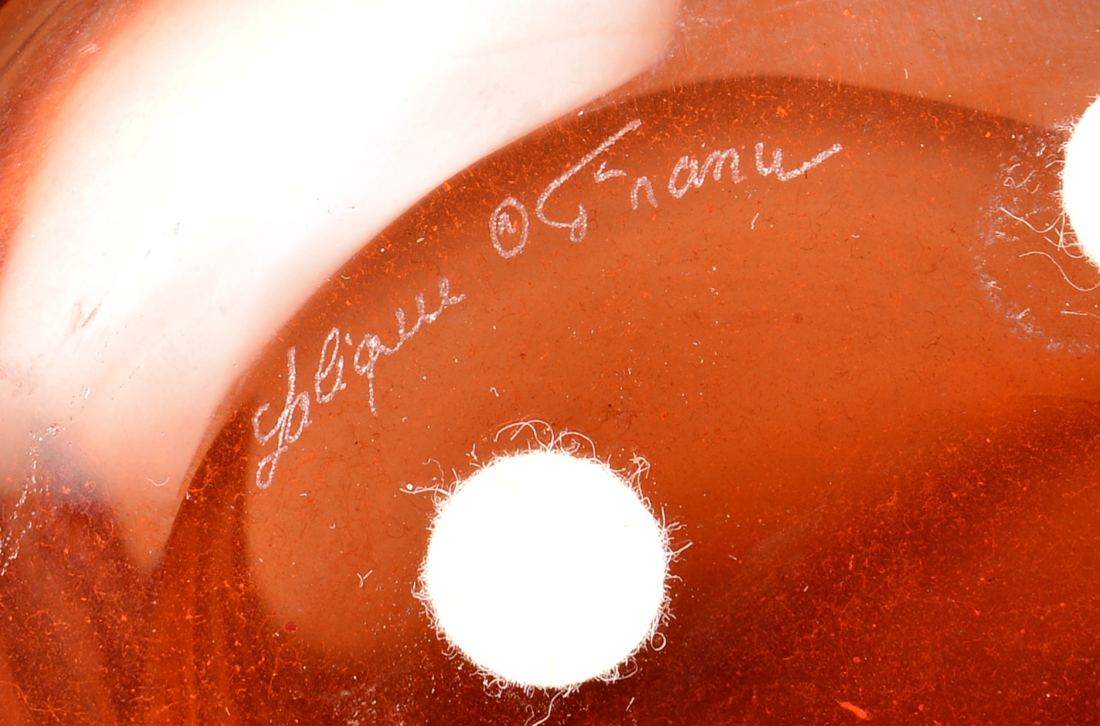 Lot 4010157: 3 Pieces of Art Glass incl. Lalique