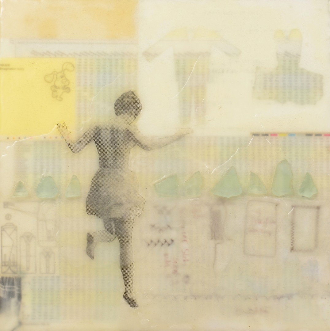 Lot 4010160: Joyce Gralak Mixed Media Artwork