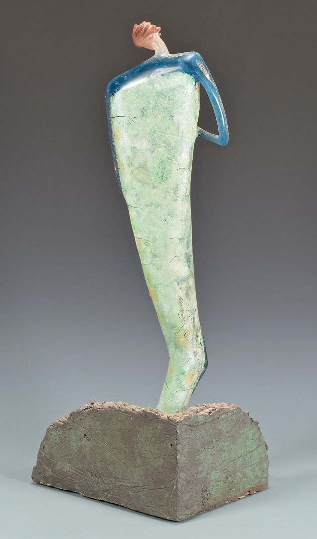"Lot 4010165: Robin Grebe Glass Sculpture ""Daphne"""
