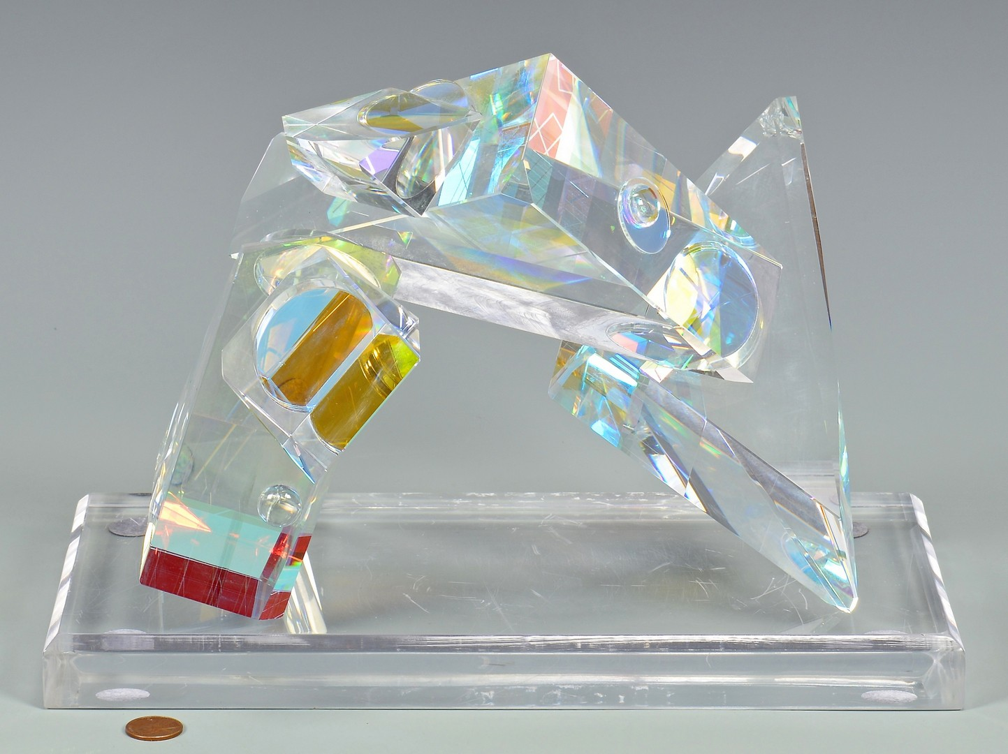 Lot 4010167: Toland P. Sand, Glass Sculpture