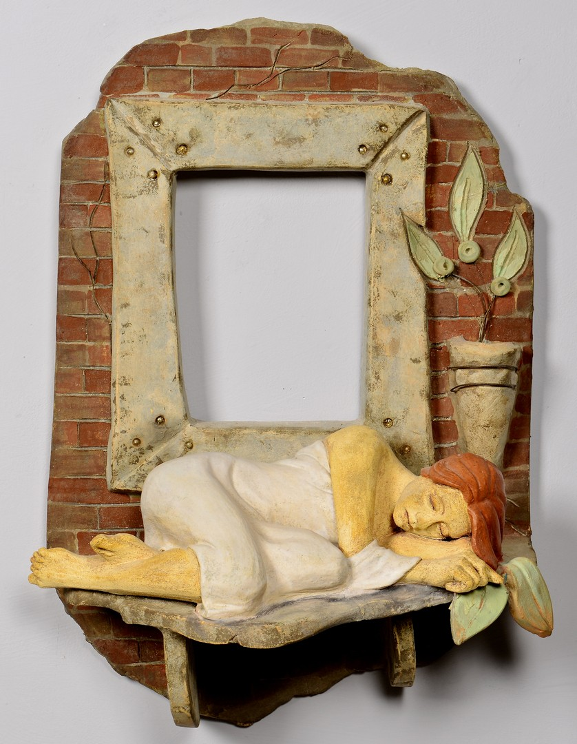 Lot 4010168: Nancy Jacobsohn (TN) Wall Sculpture