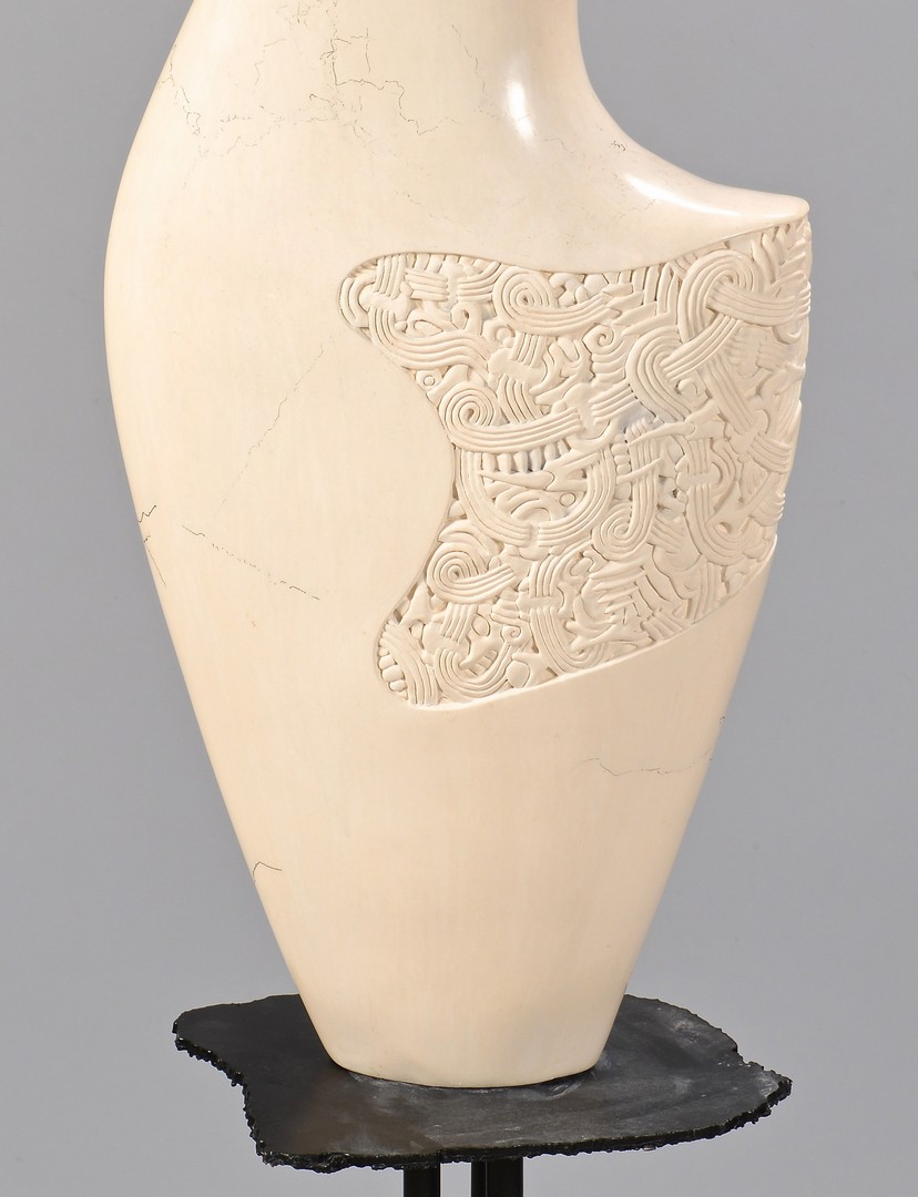 Lot 4010169: Jeff Margolin Ceramic Sculpture