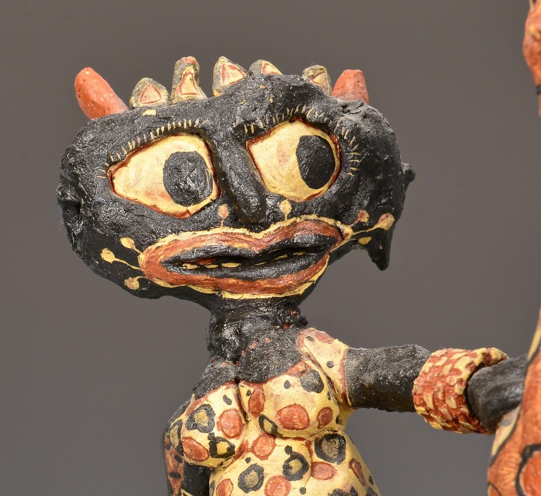 Lot 4010170: Michael Gross Folk Art Sculpture