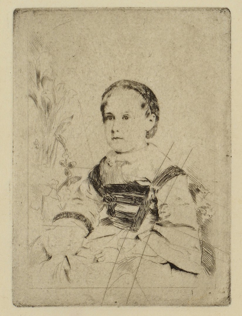 Lot 4010176: 2 Etchings, Degas and Cheris
