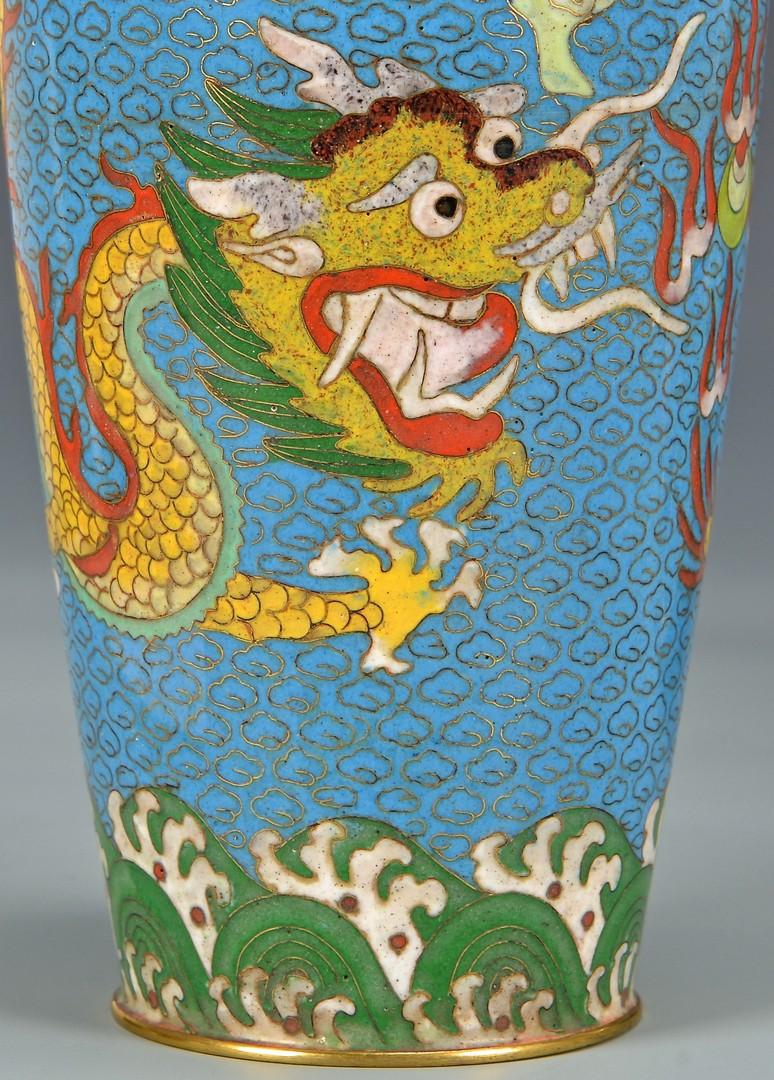 Lot 4010179: 5 Asian Decorative Items, incl. Cloisonne