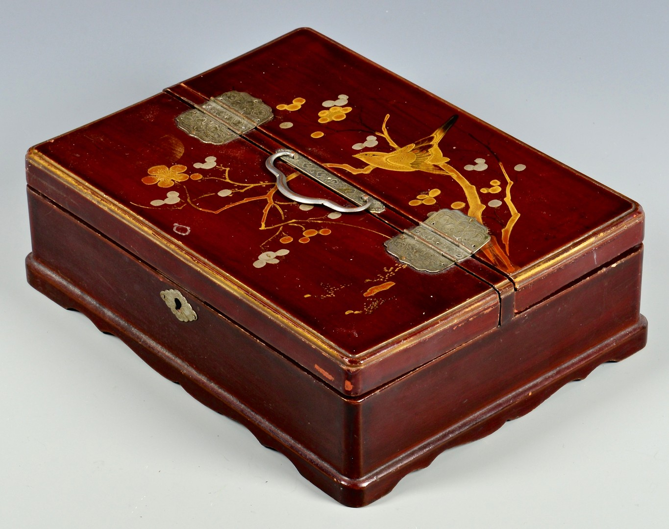Lot 4010195: 2 Asian Lacquered Boxes