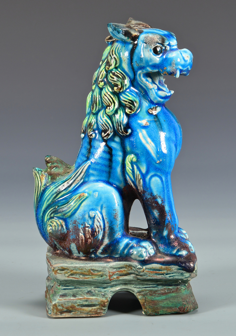 Lot 4010215 5 Chinese Foo Dogs
