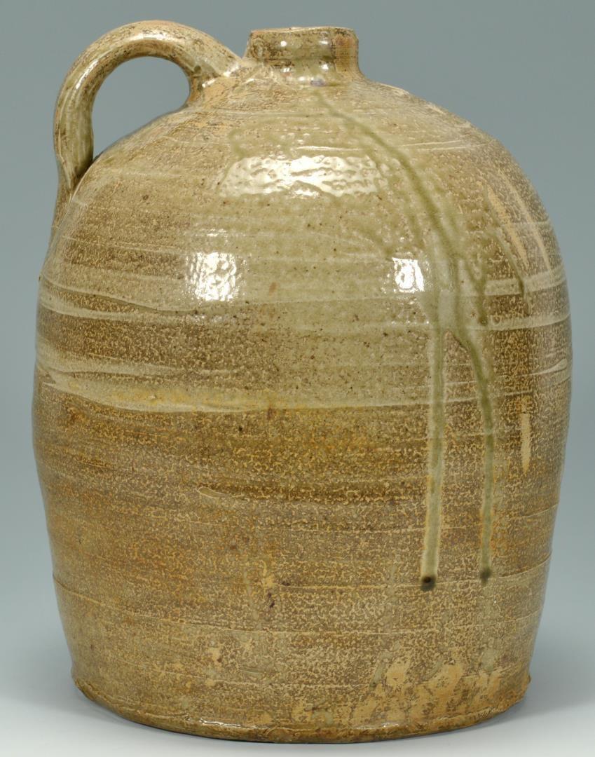 Lot 4010227: Southern Stoneware Pottery Jug, AL or NC