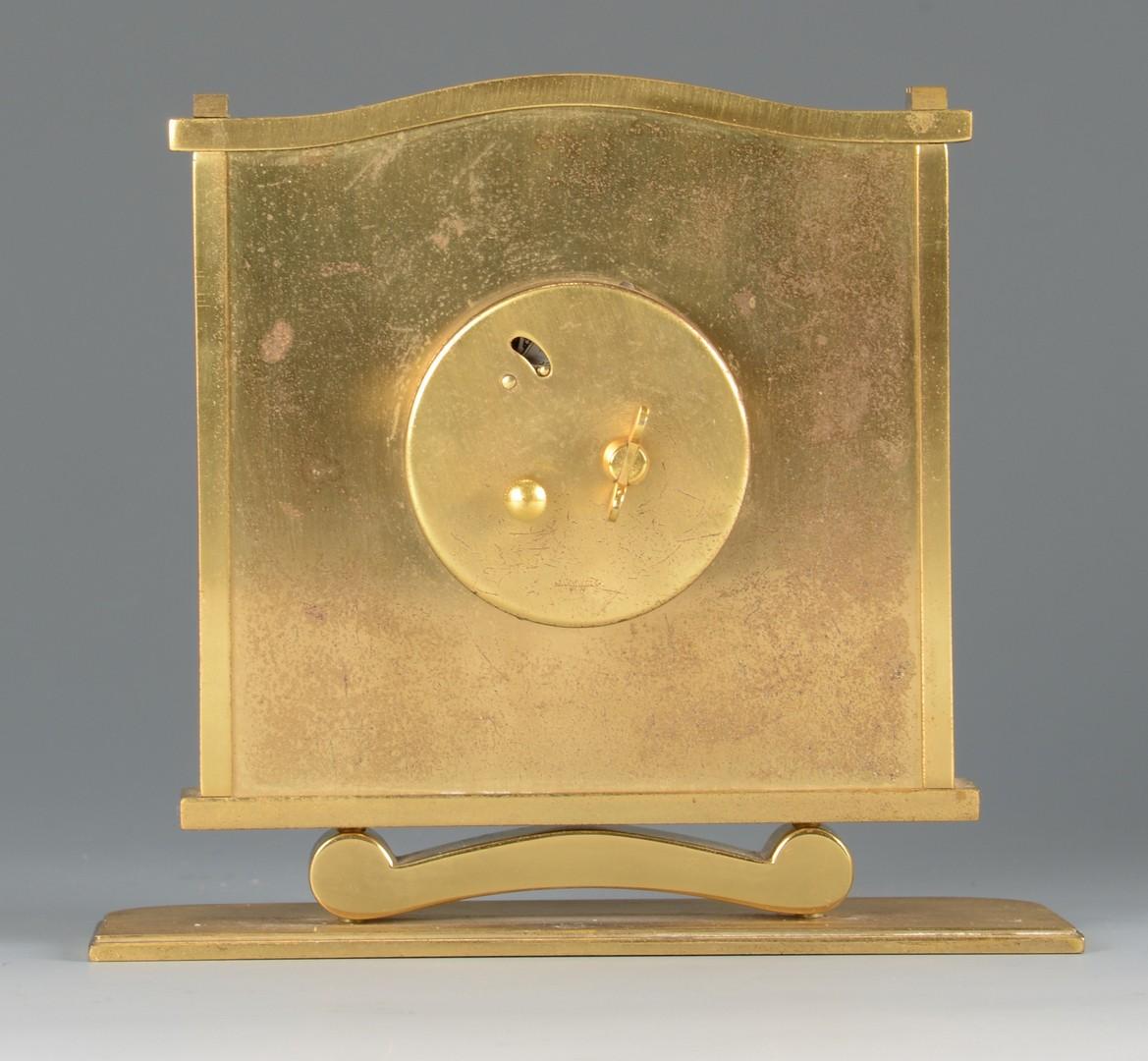 Lot 4010229: Le Coultre Art Deco Clock