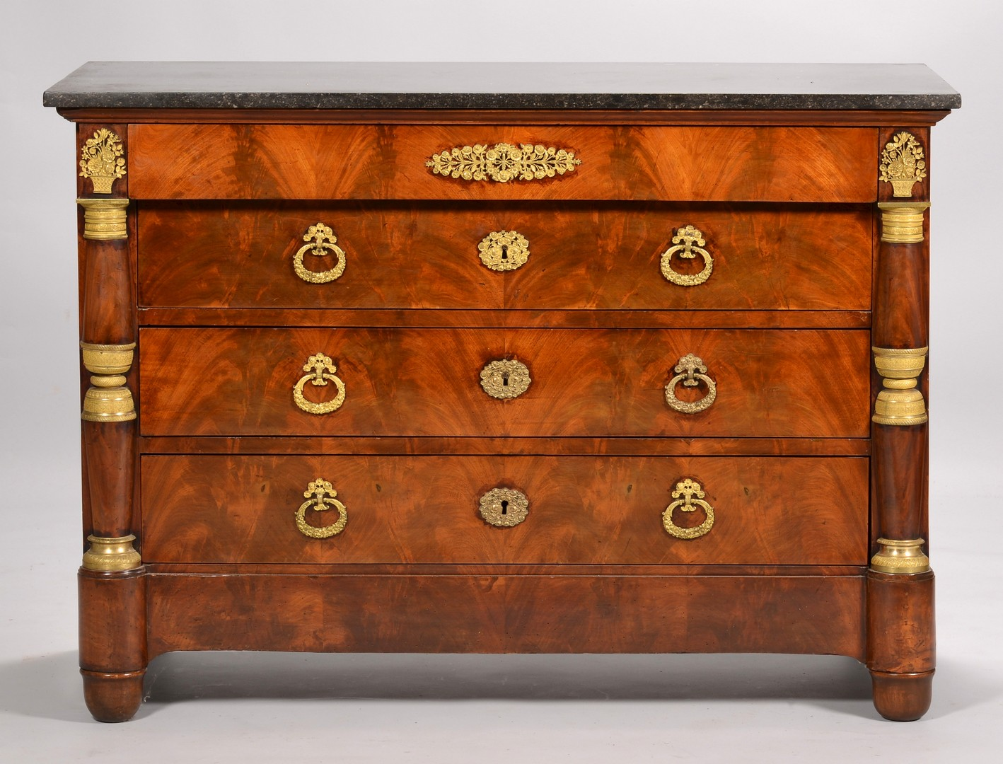 Lot 110: French 2nd Empire Chest w/ Ormolu Mounts