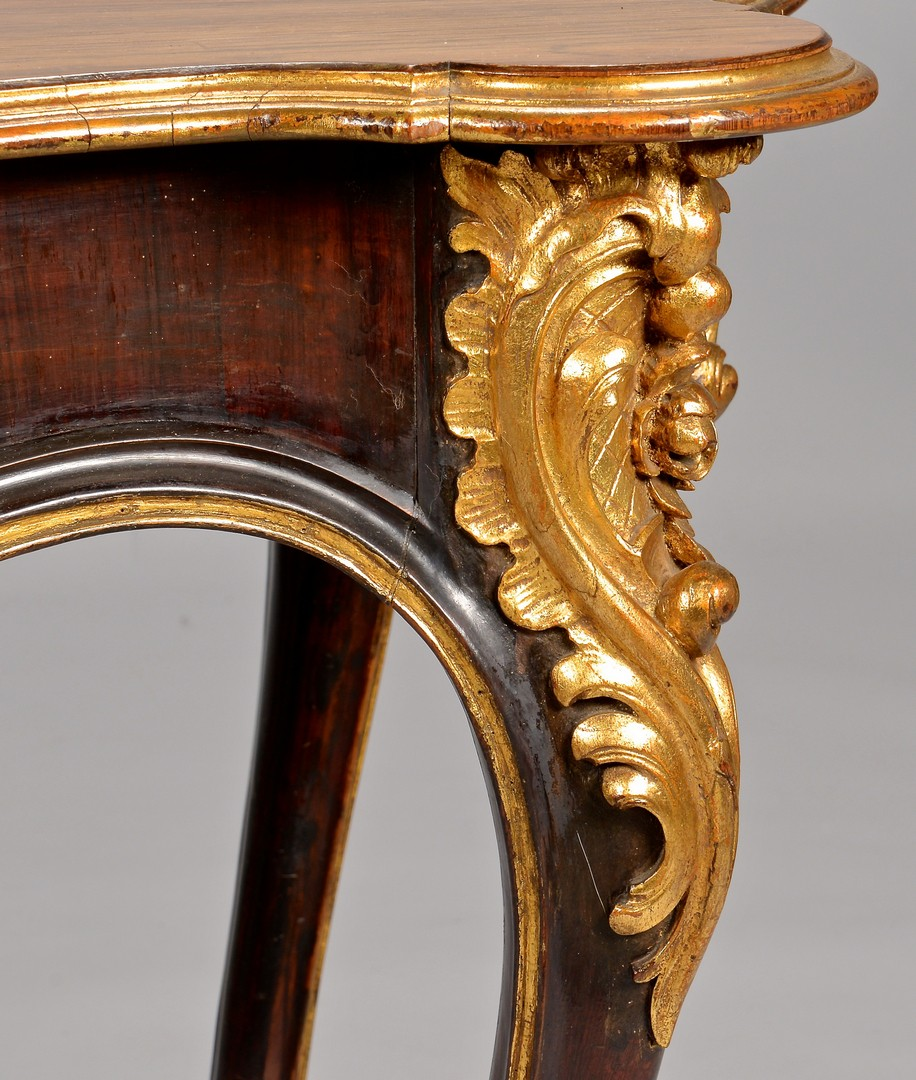 Lot 113: Large Louis XV style Rosewood Table