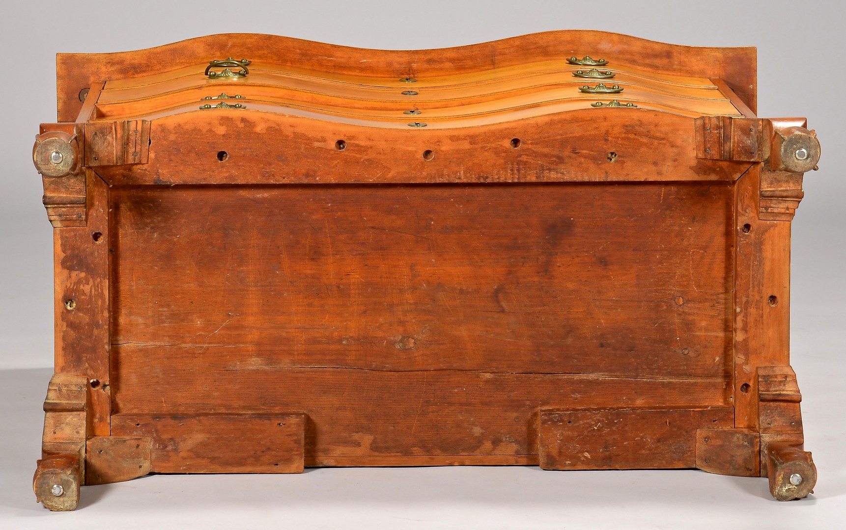 Lot 117: Massachusetts Serpentine Front Chest