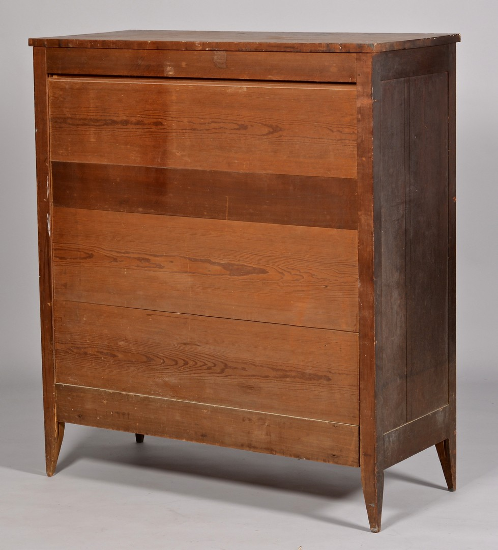 Lot 121: NC Cherry Chest w/ Elaborate Skirt, Original Surfa
