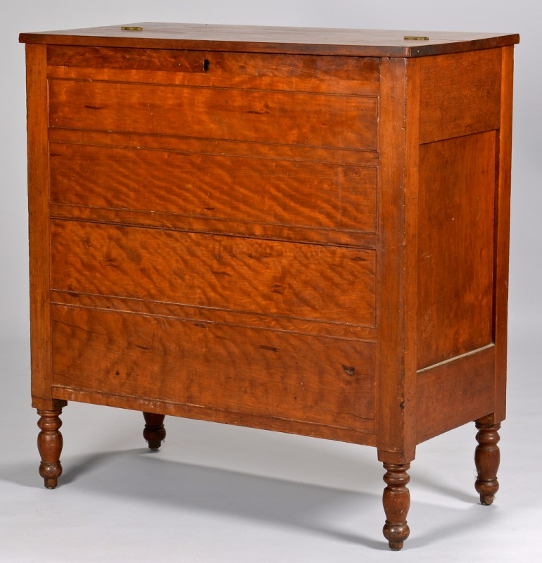 Lot 129: Kentucky Cherry Sugar Desk Bureau, exhibited