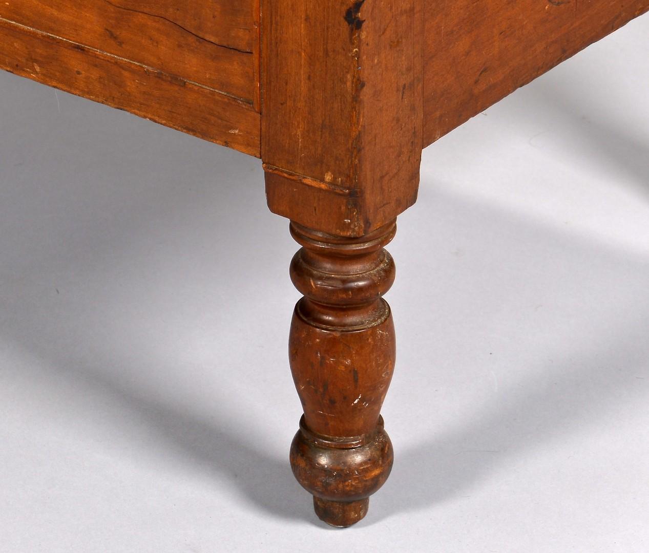 Lot 129: Kentucky Cherry Sugar Desk Bureau, exhibited