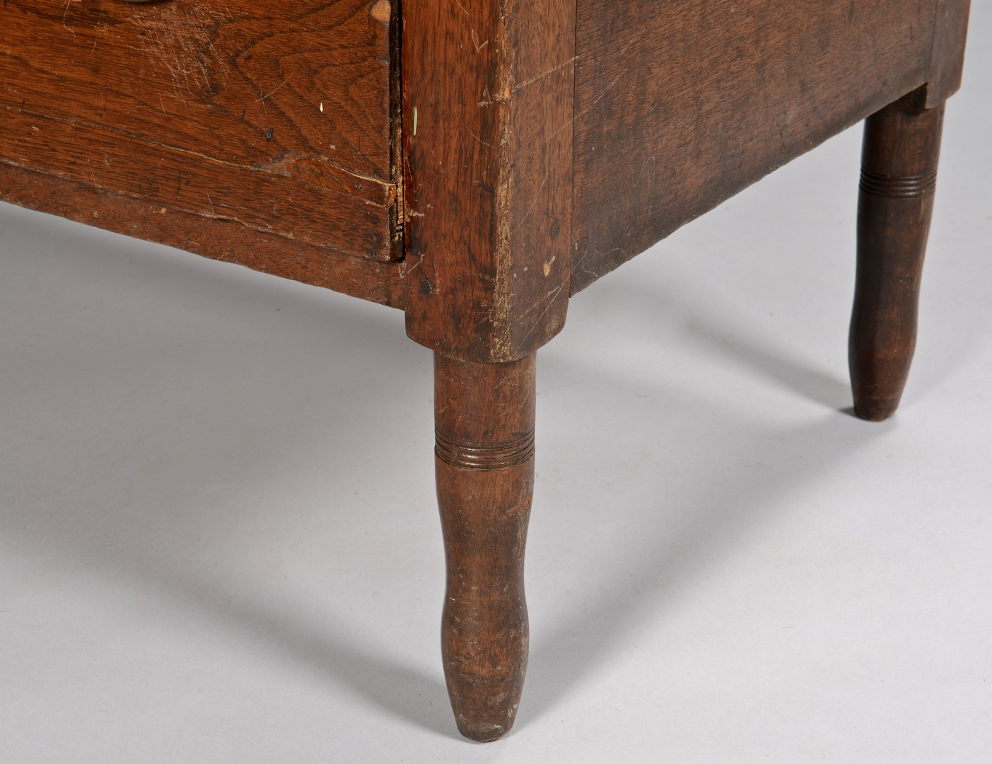 Lot 136: East TN Walnut Chest of Drawers, Knox or Blount Co