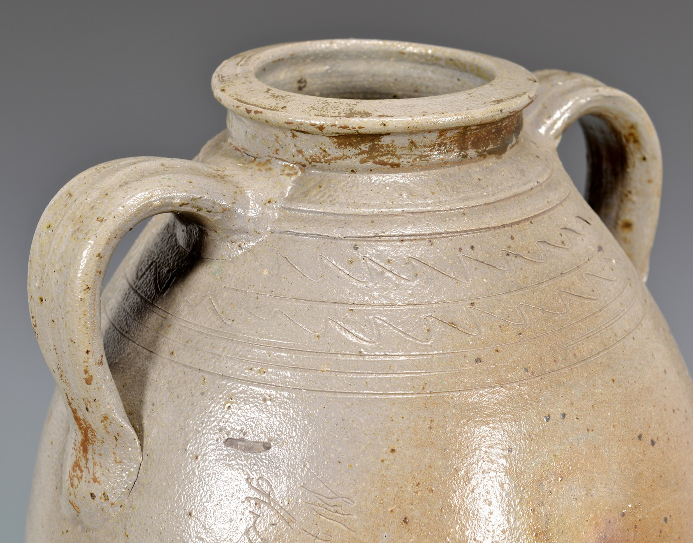Lot 140: Tennessee Stoneware Jar w/ Inscription