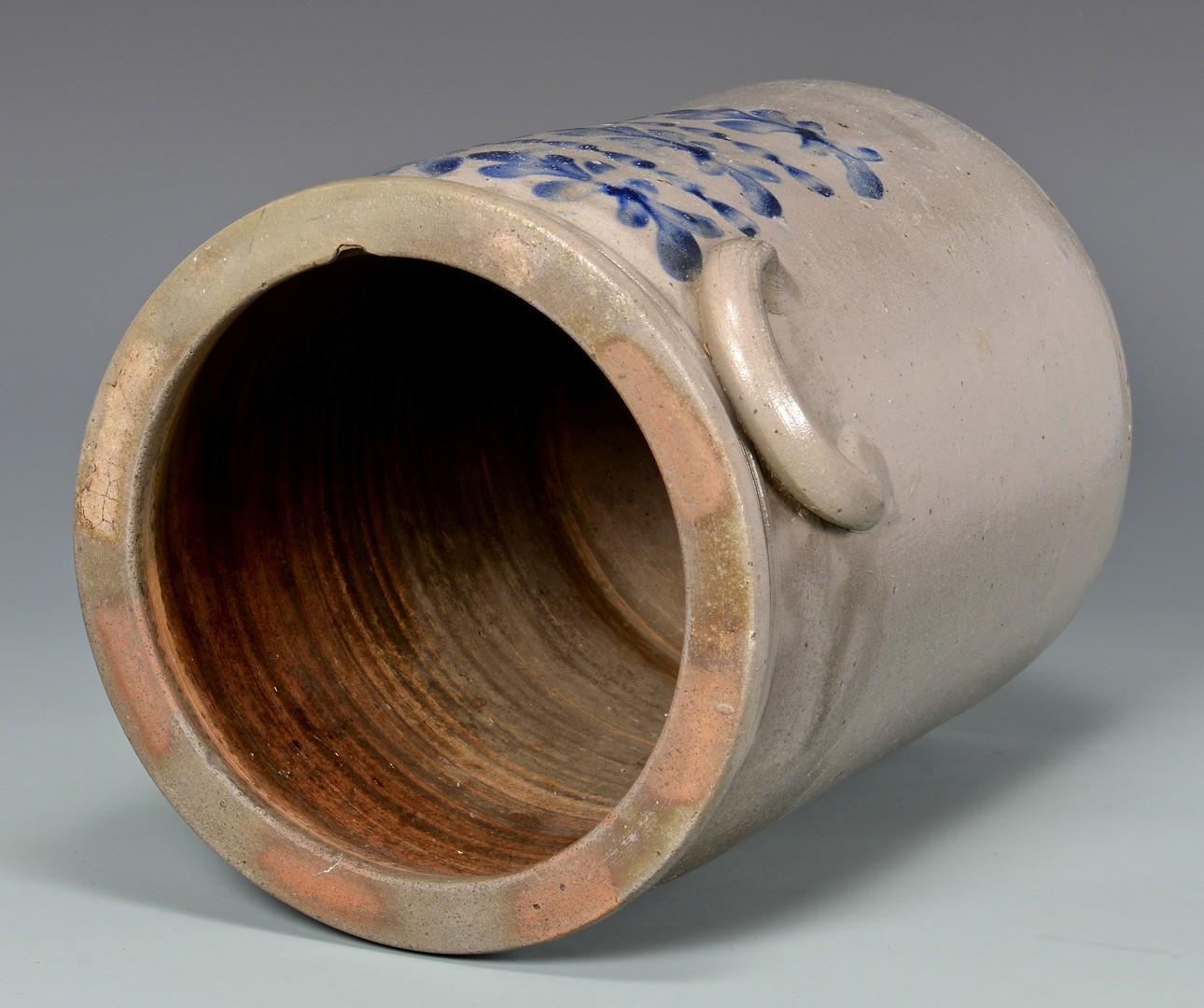Lot 143: KY Cobalt Decorated Jar attrib. J. H. Miller