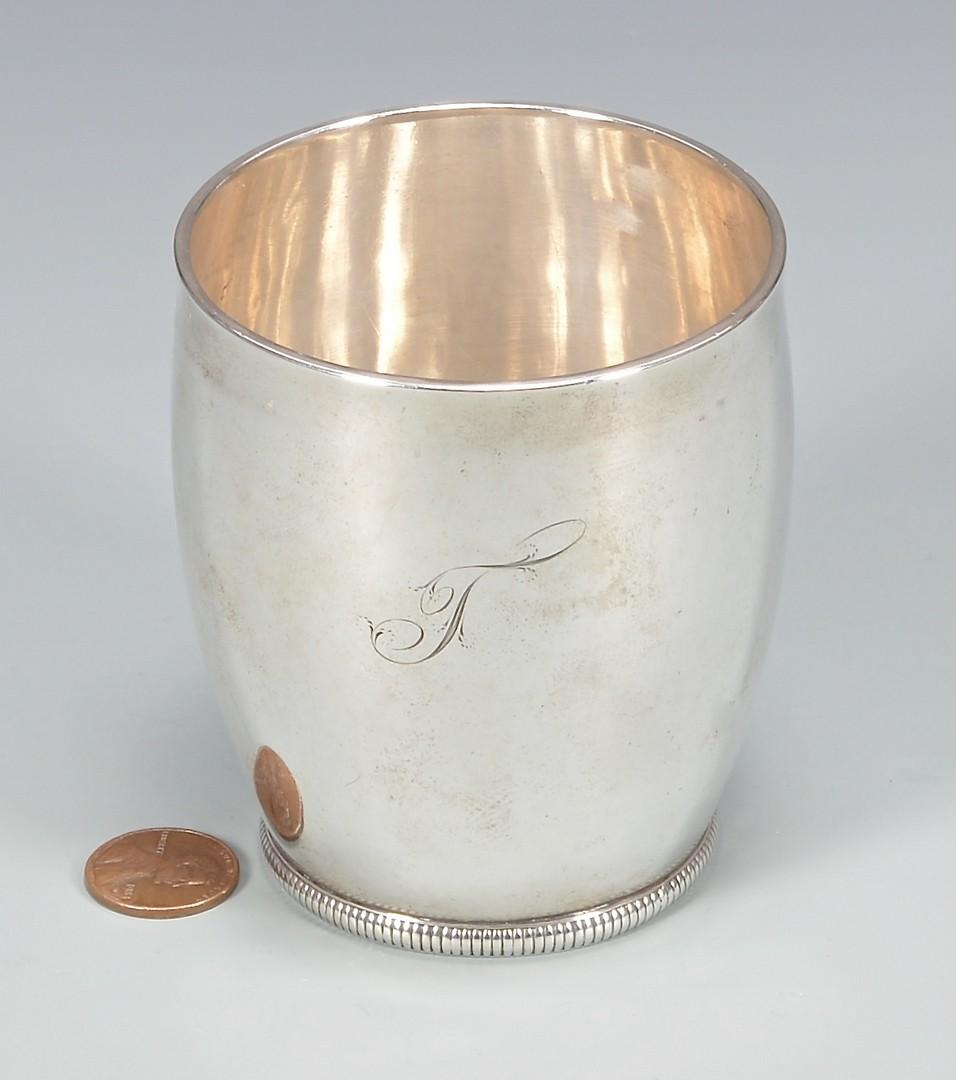 Lot 144: Mississippi Coin Silver Beaker