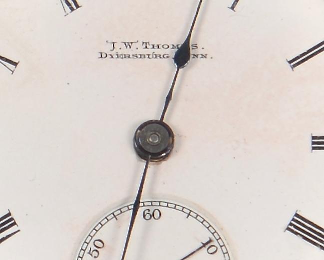 Lot 147: TN Pocketwatch plus Merriman & Clark, Memphis Spoo