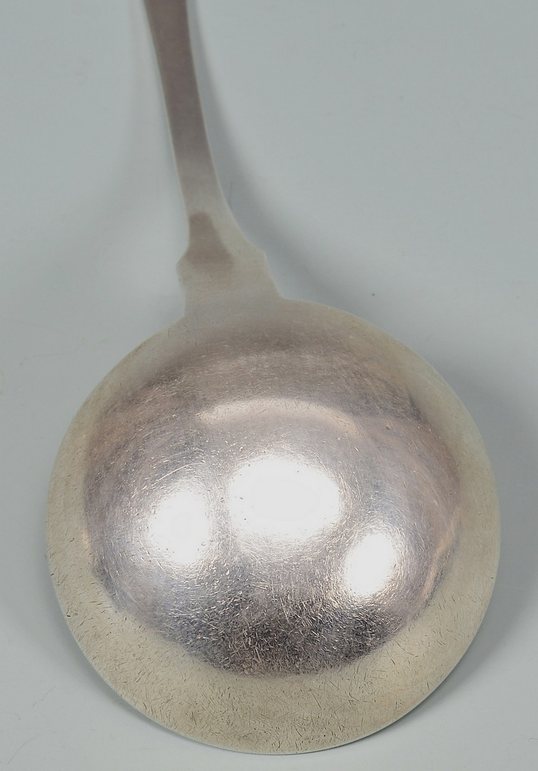 Lot 152: B.B. Marsh KY Coin Silver Gravy Ladle
