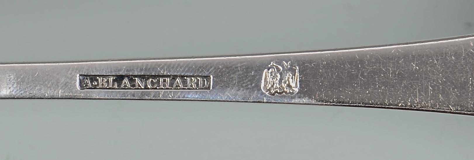 Lot 155: Asa Blanchard Punch Ladle, Coffin Handle