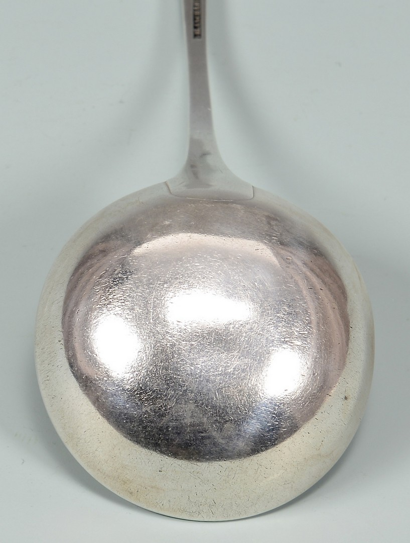 Lot 155: Asa Blanchard Punch Ladle, Coffin Handle