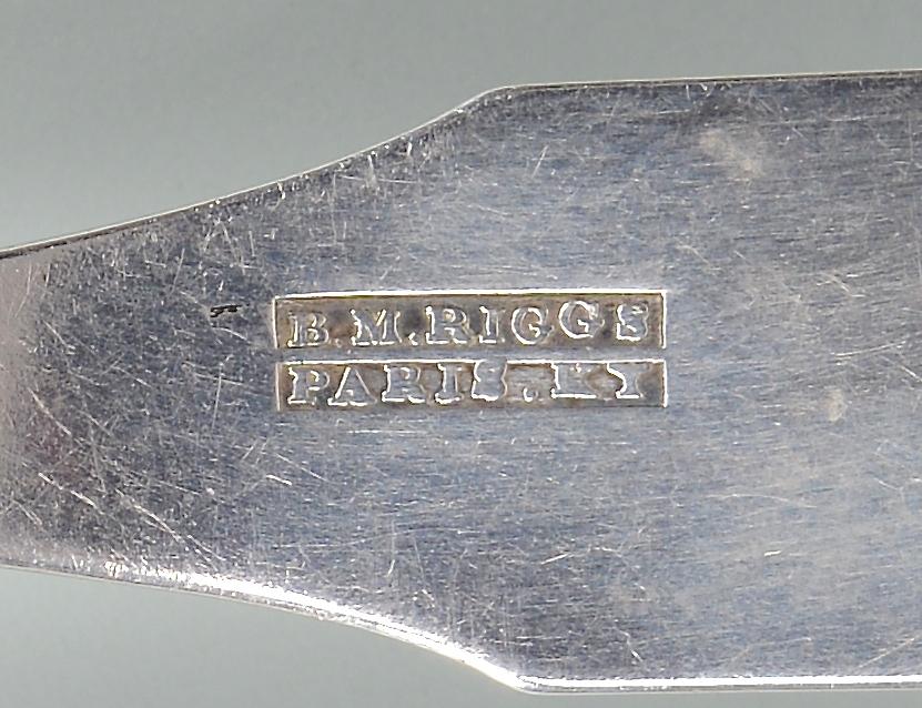Lot 160: Riggs Paris, KY Silver Gravy Ladle
