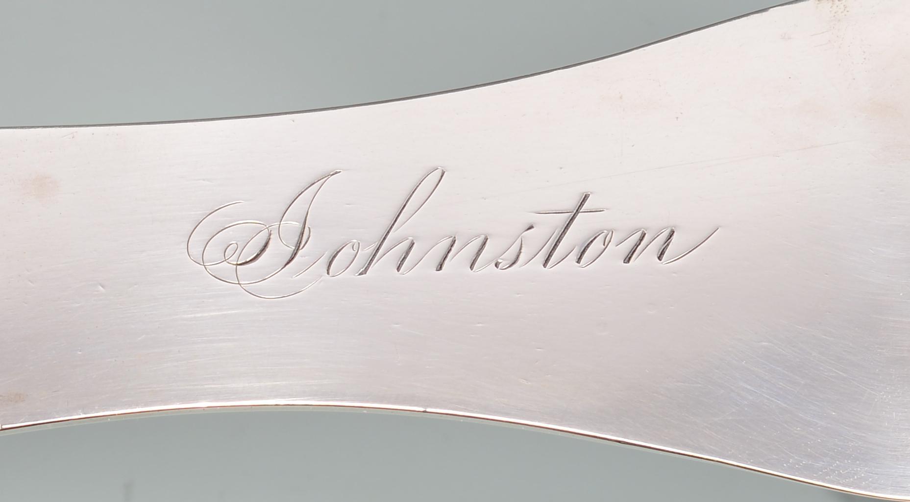 Lot 165: W.M. Hinton KY coin silver Soup Ladle