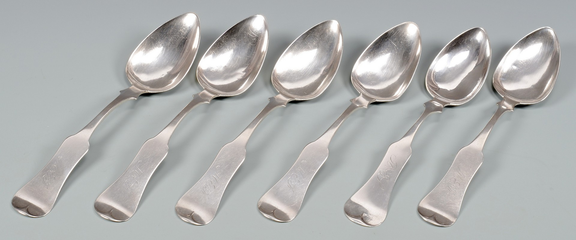 Lot 167: Group of KY Coin Silver Flatware