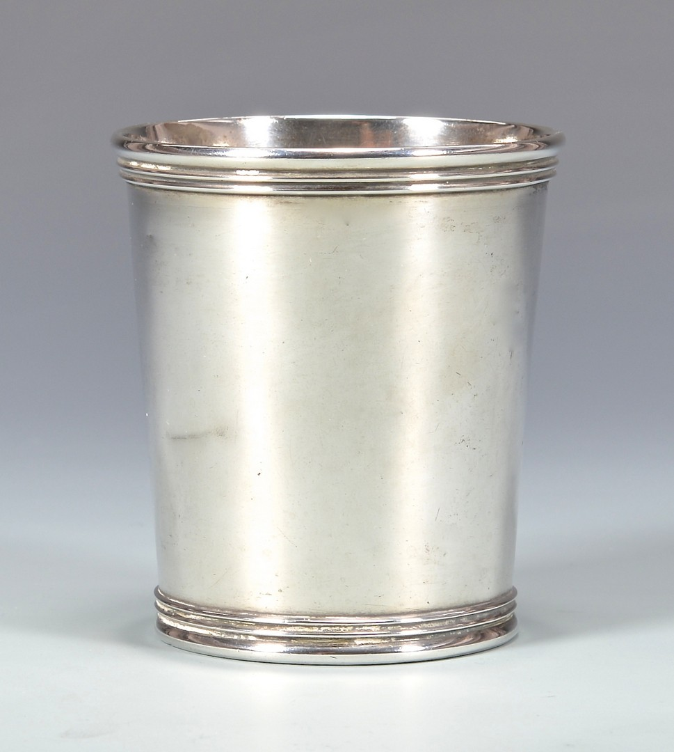 Lot 170: Kinsey Coin Silver Julep Cup