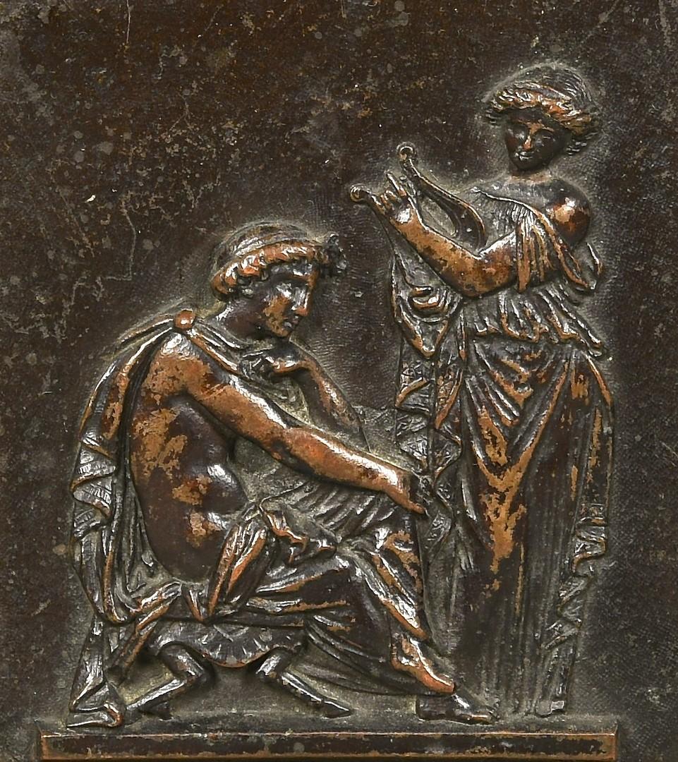 Lot 174: Group of Antique Bronze & Metal Decorative Items,