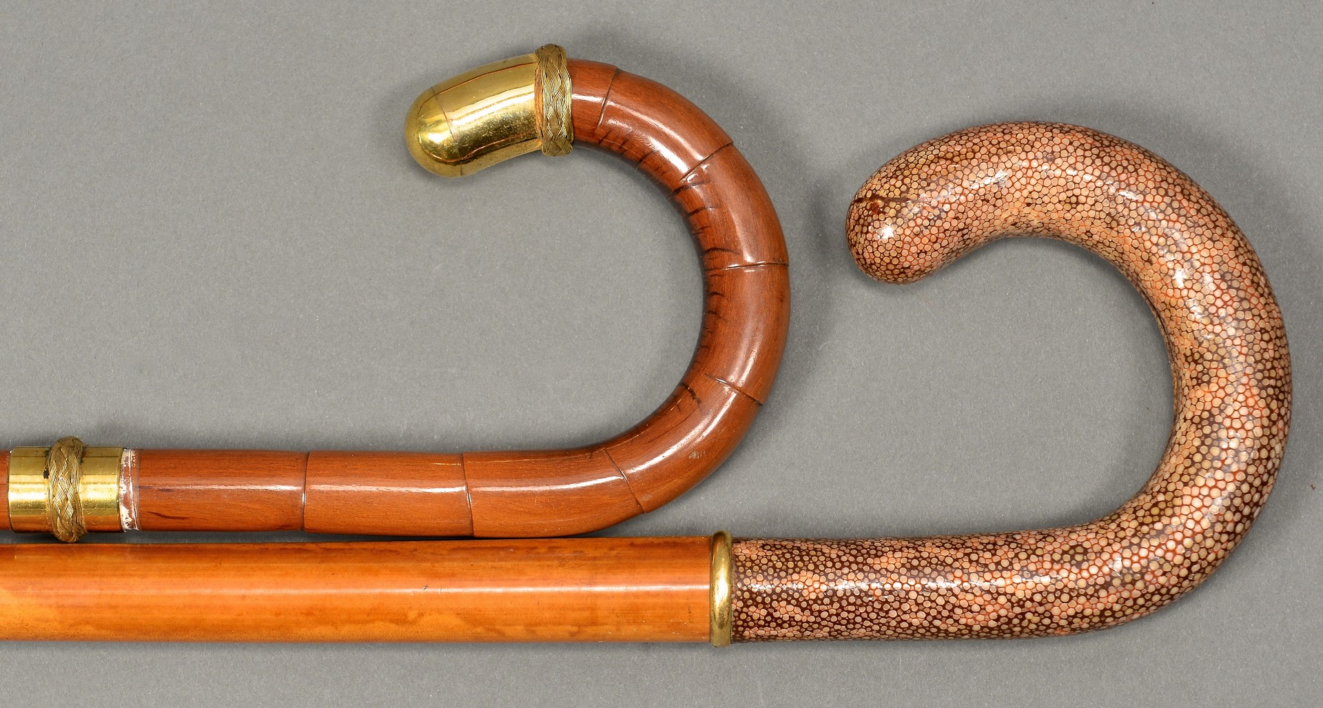 Lot 176: 5 Gentleman's Walking Sticks