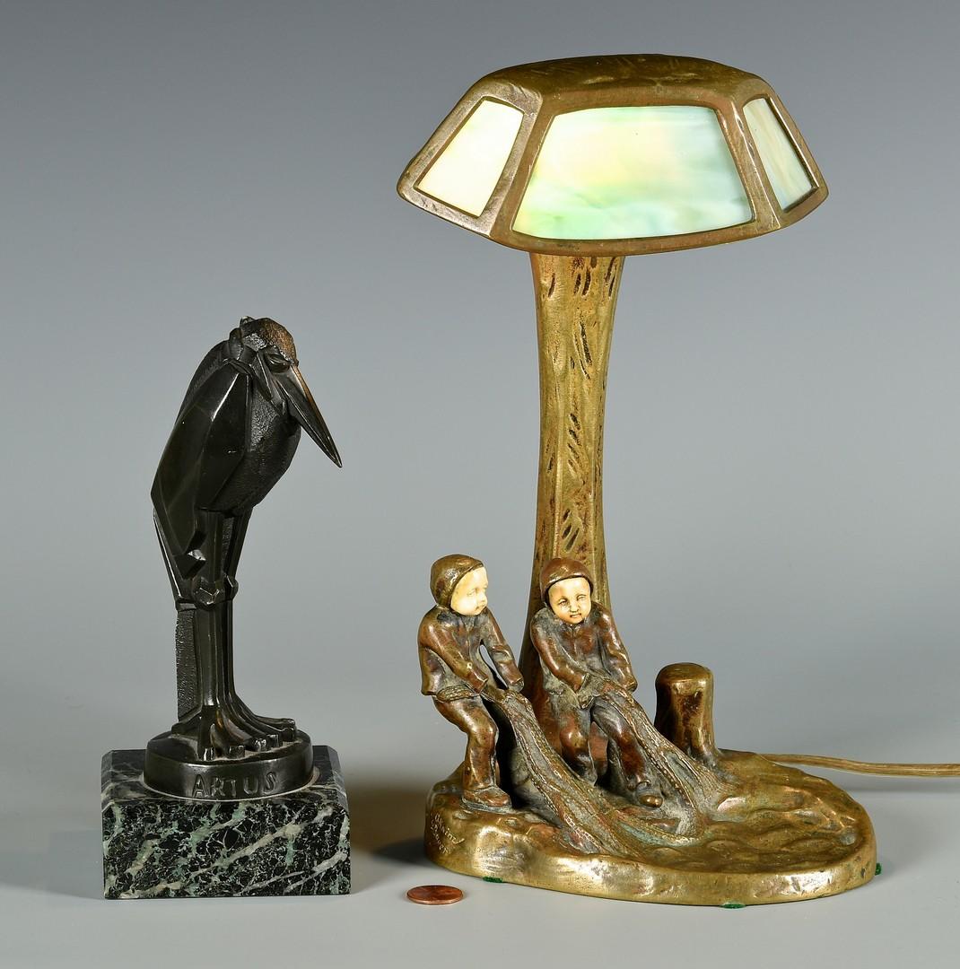 Lot 184: Pair Bronzes by Kainz & Bauer, Artus