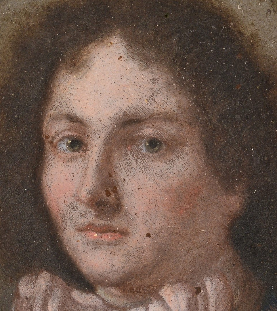 Lot 189: Two Miniature Portraits of Gentlemen