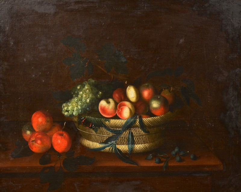 Lot 199: Still life attr. Louis Hubner, 18th c.