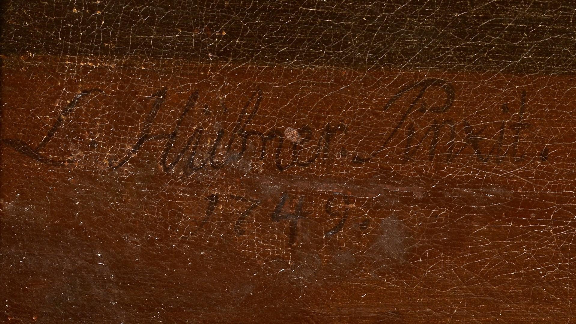 Lot 199: Still life attr. Louis Hubner, 18th c.