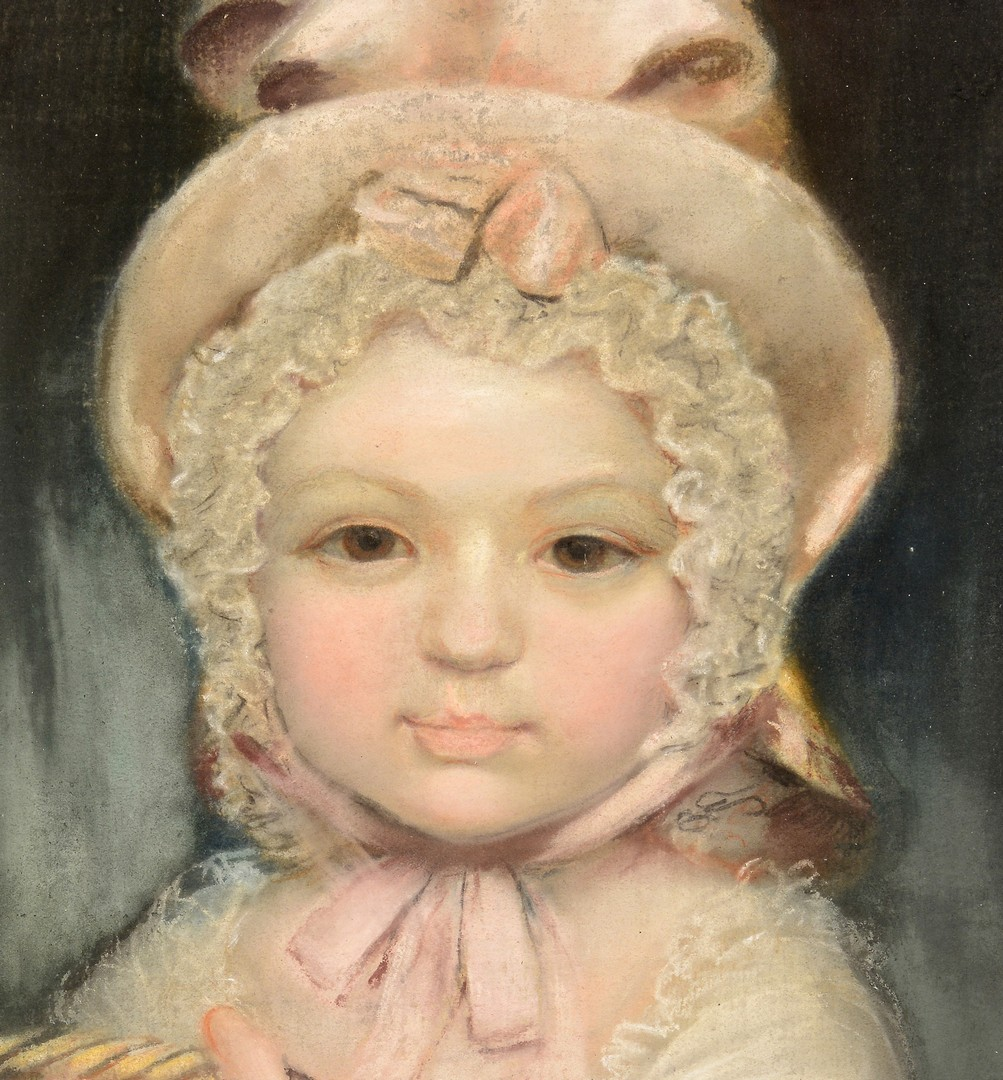Lot 202: Portrait of a Girl with Kitten