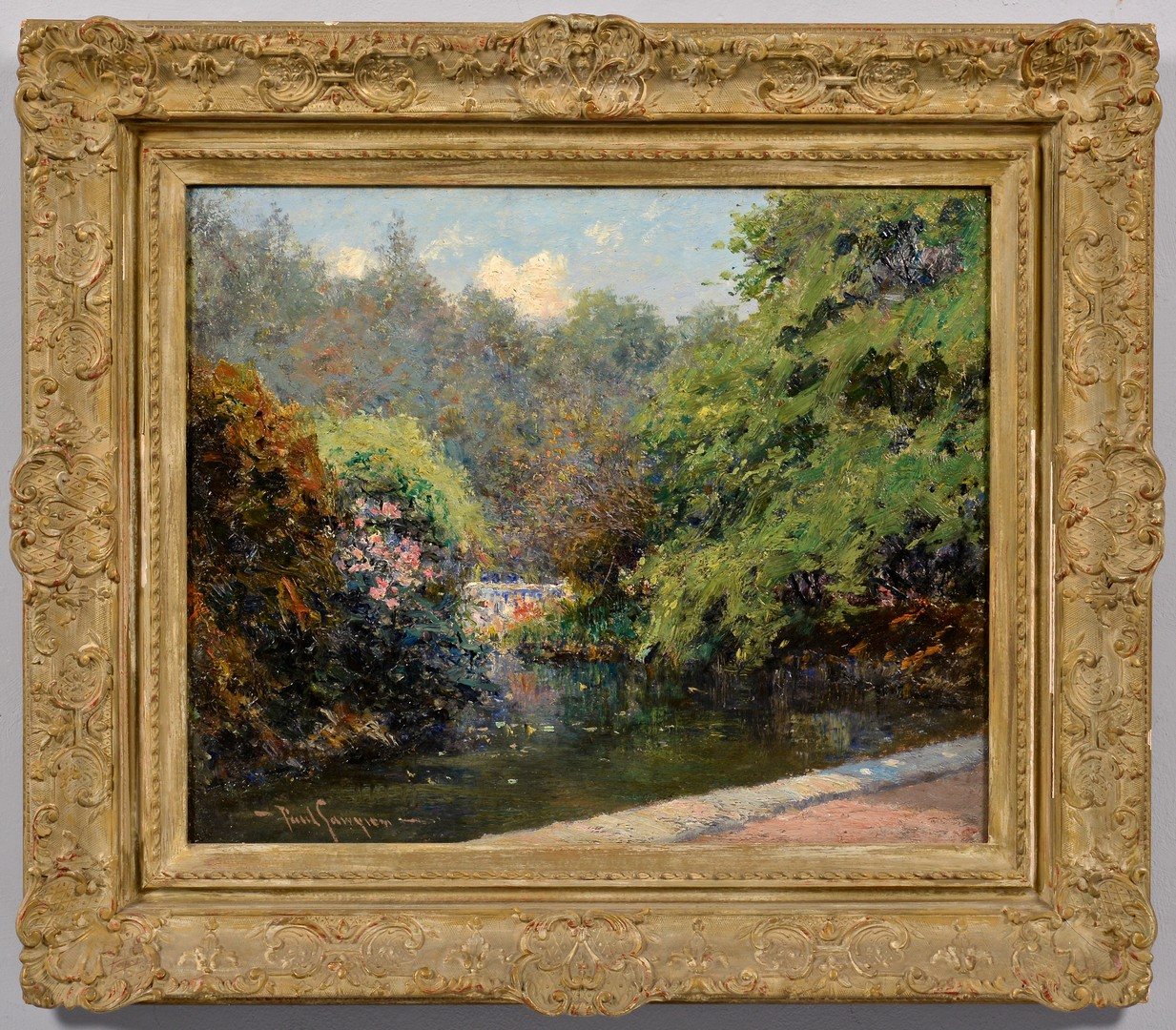 Lot 203: Paul Sawyier o/b, Vale of Cashmere, Prospect Park