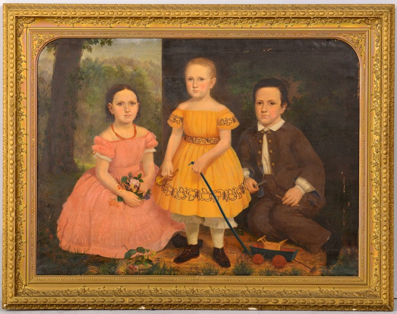 Lot 207: Portrait of the 3 Noyes Children, KY