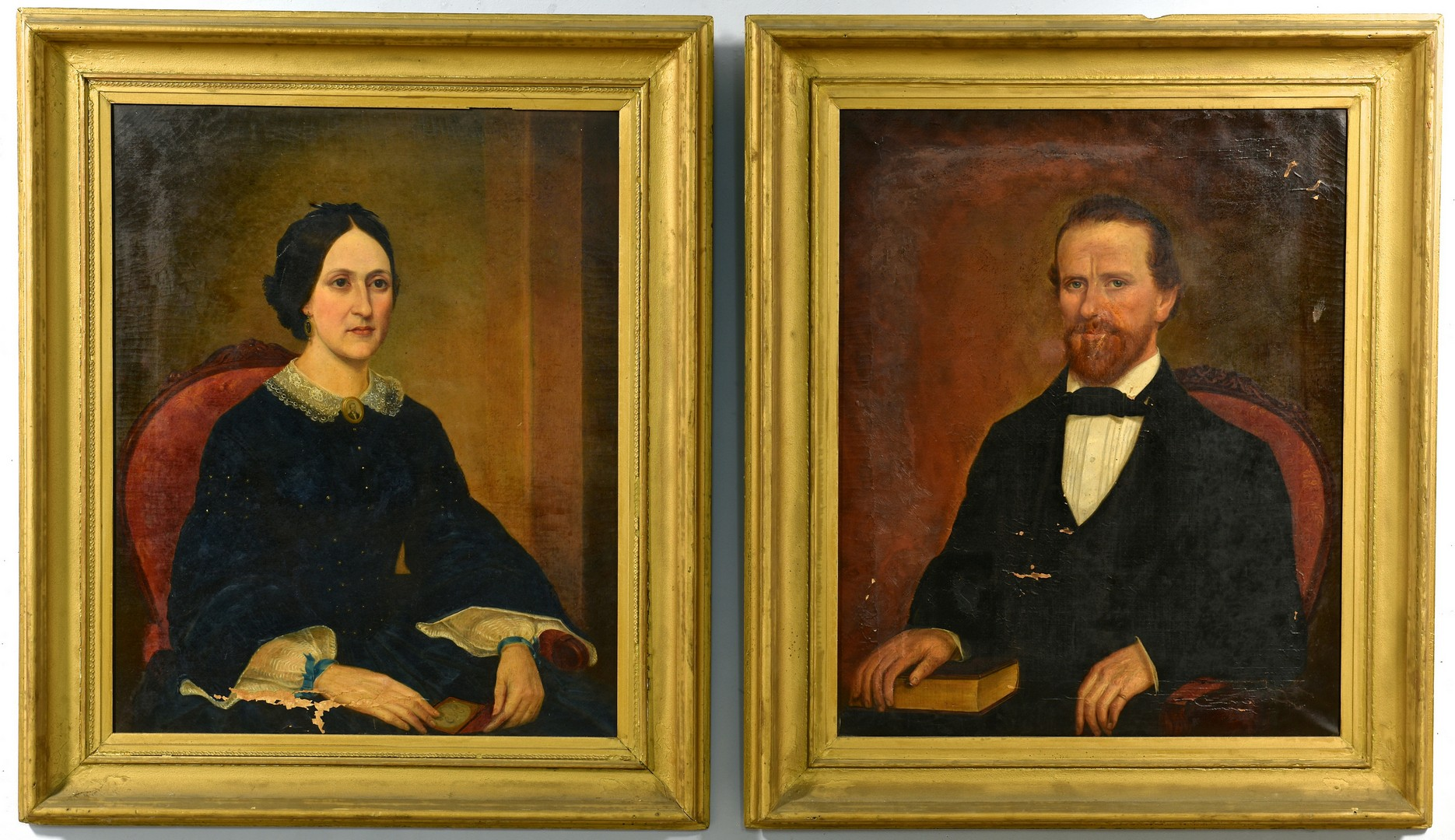 Lot 208: O/C, Mr. and Mrs. Noyes, New Albany and KY