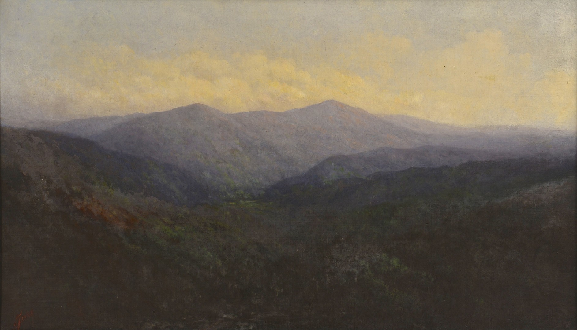 Lot 212: Lg. Charles Krutch O/C of Mt. LeConte