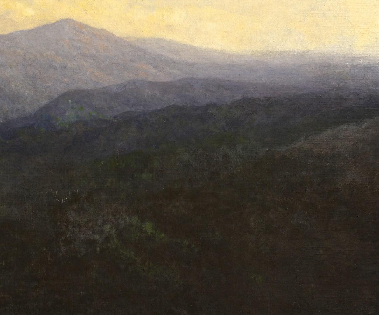 Lot 212: Lg. Charles Krutch O/C of Mt. LeConte