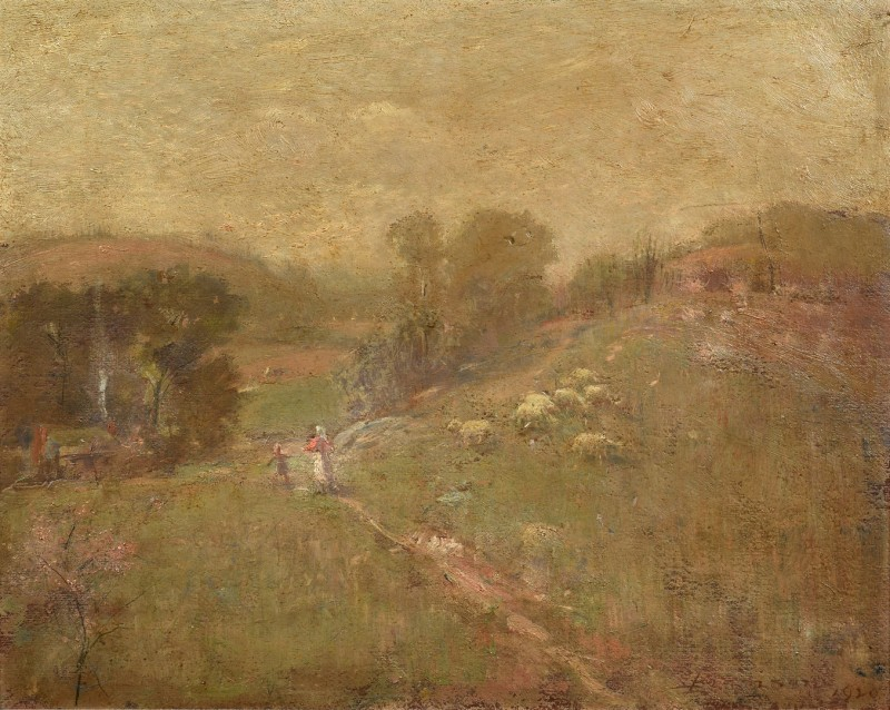 Lot 213: Lloyd Branson O/B Landscape