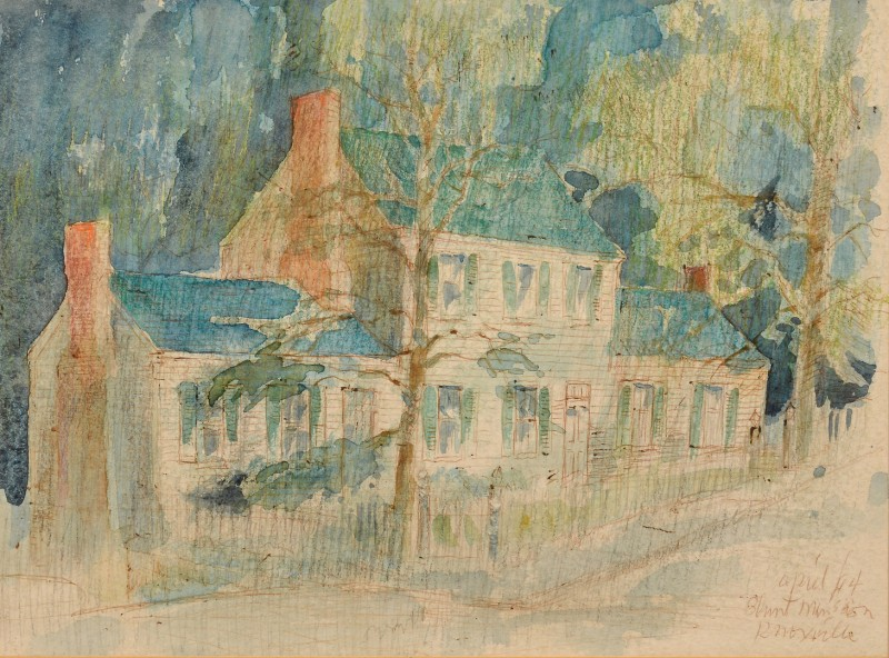 Lot 215: Carl Sublett, Blount Mansion