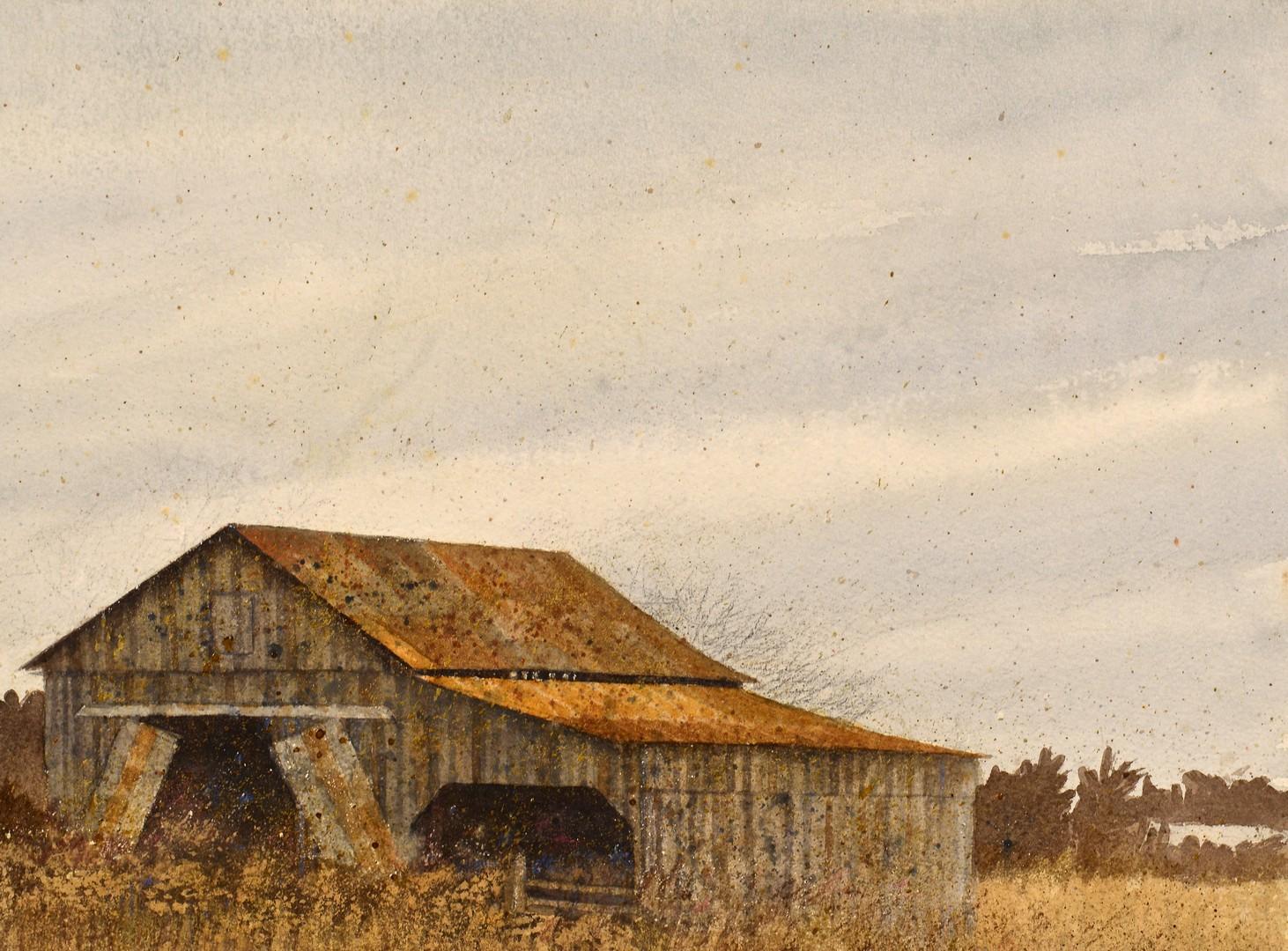 Lot 220: Pauline Wallen Prize Winning Landscape Watercolor