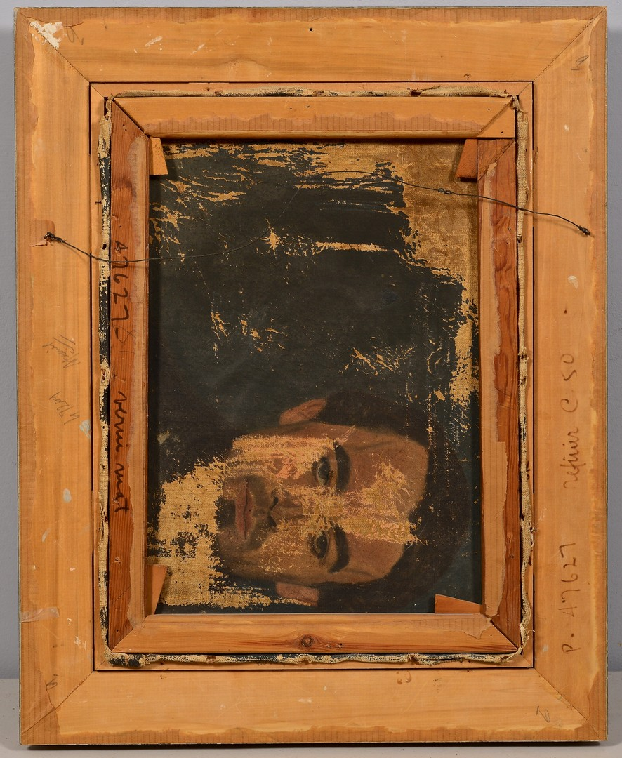 Lot 223: Madonna & Child Oil on Canvas